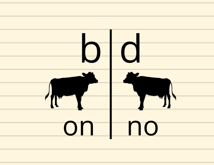 "Is flipping ""b"" and ""d"" a sign of dyslexia?"