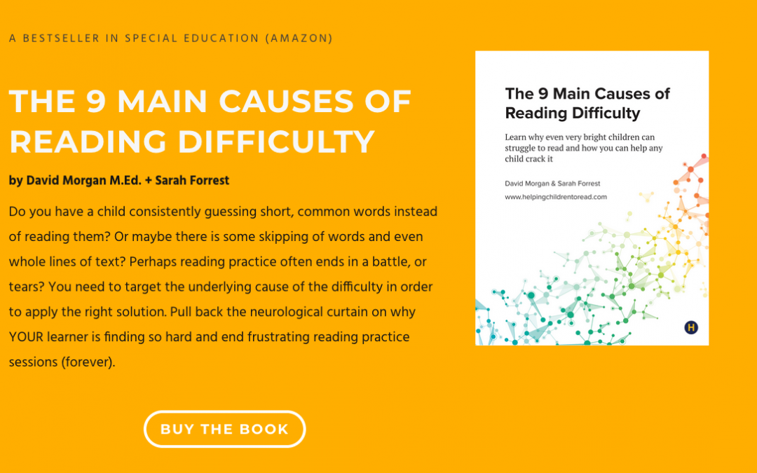 Book: The 9 Main Causes of Reading Difficulty